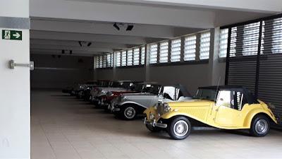 A garagem do Hotel Majestic ficou mais bonita.