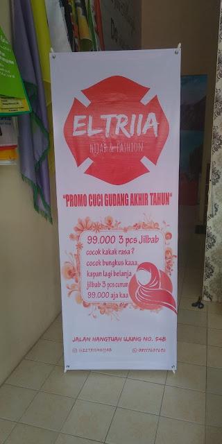 X Banner Promo Cuci Gudang