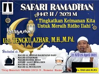 ANNAS Balikpapan adakan Gelar Safari Ramadhan 1442