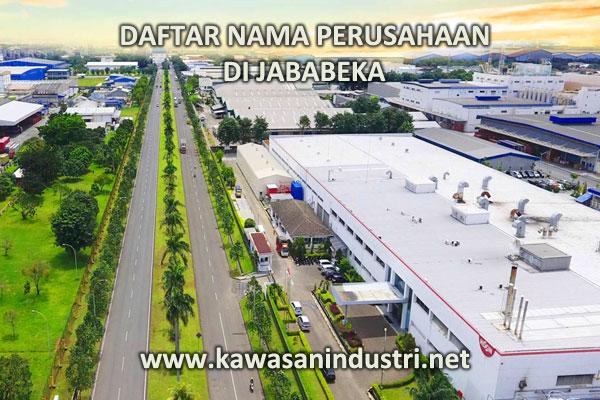 Daftar Lengkap Alamat | Nama Perusahaan di JABABEKA No.2