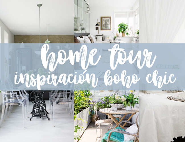 HOME TOUR: inspiración boho chic