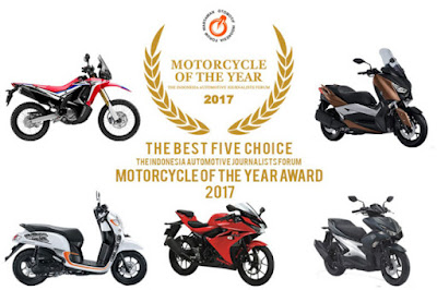 Finalis Forwot Motorcycle of the Year 2017