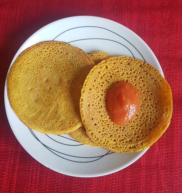 chickpea flour pancake