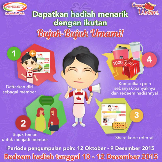 Kontes referral Bujuk-Bujuk Umami