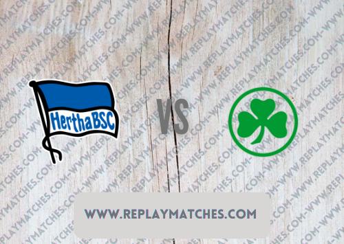 Hertha Berlin vs Greuther Fürth -Highlights 17 September 2021