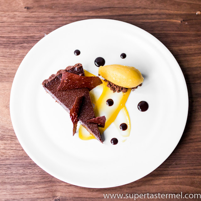 Dark Chocolate Passion Fruit Tart Mercato Hong Kong