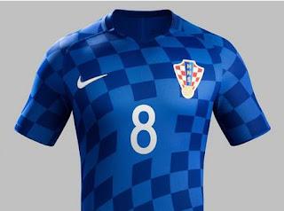 Jersey Kroasia Euro 2016 Away