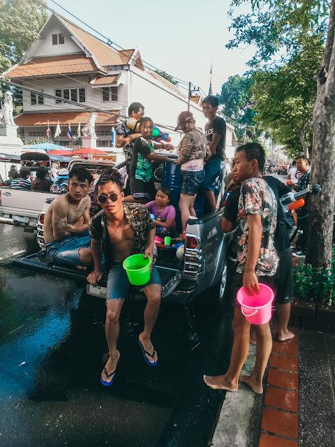 Songkran kiedy | Songkran gdzie najlepiej | Tajlandia Songkran