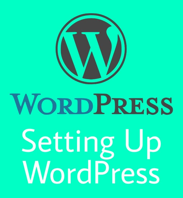 How to setup wordpress