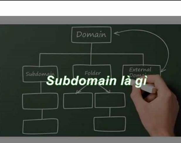 Subdomain là gì và làm thế nào để tạo sub domain