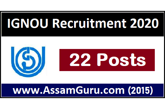 IGNOU Job 2020