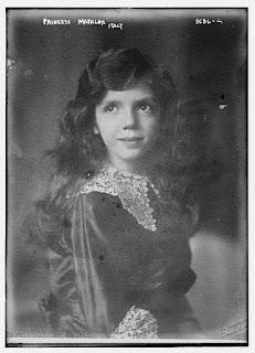 Iolanda's sister, Mafalda, whose life  was to end tragically in 1944
