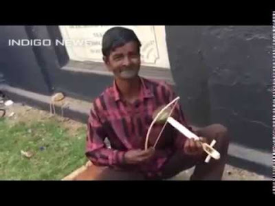 Amazing Musical Instruments Talent in Indian Street