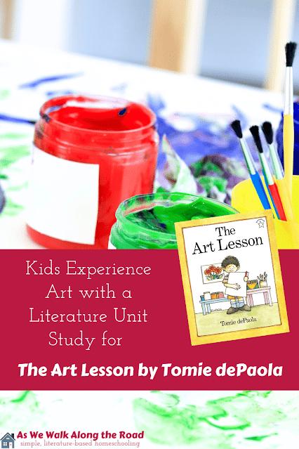 The Art Lesson Unit Study