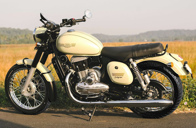 jawa forty two Specifications & Design automation bio