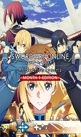 Sword Art Online Alicization Lycoris Month 1 Edition, v1.01 + 3 DLCs