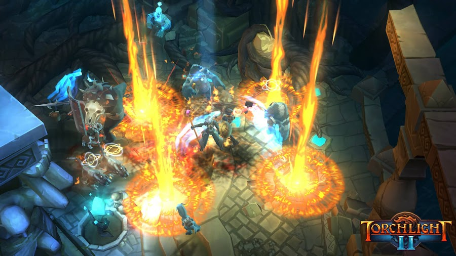 torchlight 2 action rpg runic games ps4 switch xbox