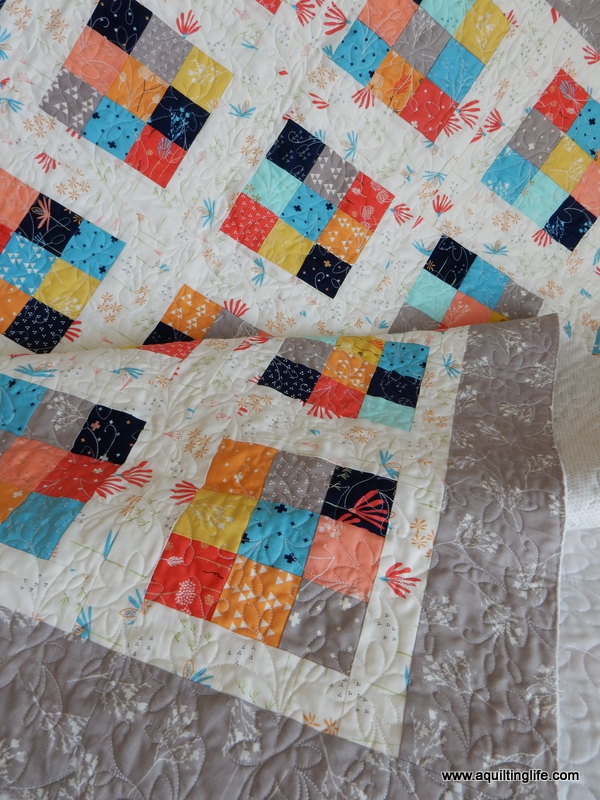 scrappy 9patch quilt tutorial