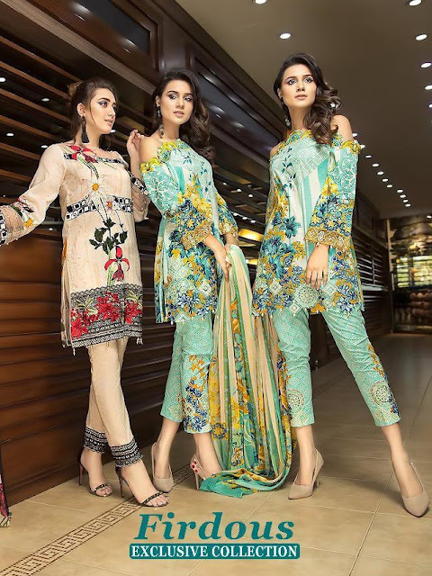 Shree fab Firdous Exclusive Collection pakistani Suits