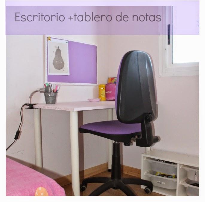 Mi rinc n de sue os hacer escritorio infantil low cost - Tableros para escritorios ...