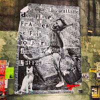 Paris street art Giacometti