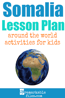 Building the perfect Somalia lesson plan for your students? Are you doing an around-the-world unit in your K-12 social studies classroom? Try these free and fun Somalia activities, crafts, books, and free printables for teachers and educators! #Somalia #lessonplan
