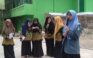 Di MA Nurul Iman, IPPNU Sindangkerta Gelar Demo