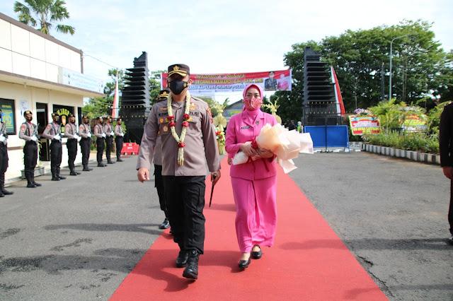 AKBP Muchammad Syafi Maulia, S.I.K,. MH Jabat Kapolres Karanganyar