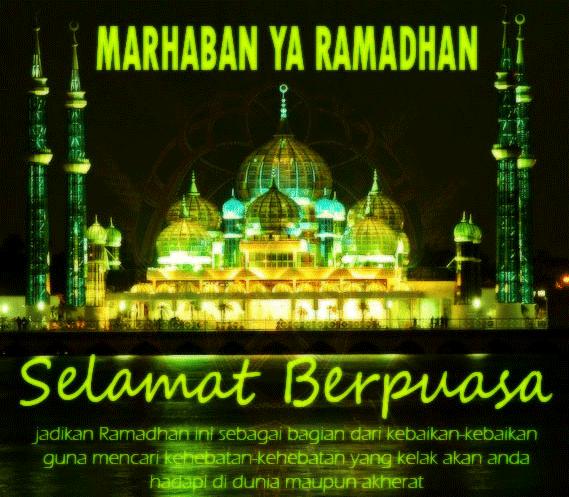 Kata Ucapan Selamat Puasa Ramadhan