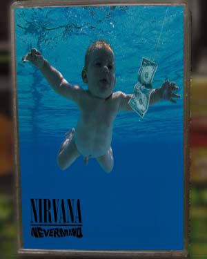 Kaset Nirvana - Nevermind