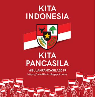 Desain Logo, Banner dan Spanduk Hari Lahir Pancasila Ke-74 ...