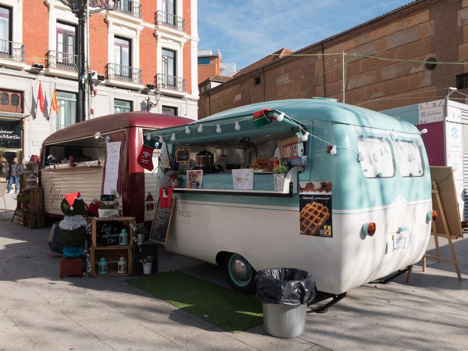 Quiosco de comida rápida, Madrid 2016