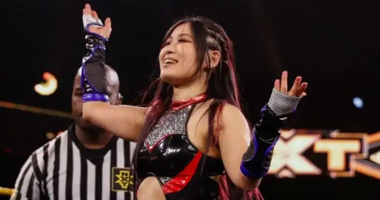 أيو شيراي تعود ل عرض NXT بعد غياب دام شهرين وتحقق فوزا كبيرا