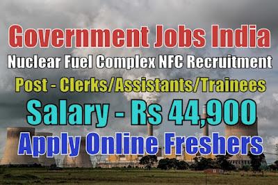 Nuclear Fuel Complex Recruitment 2020