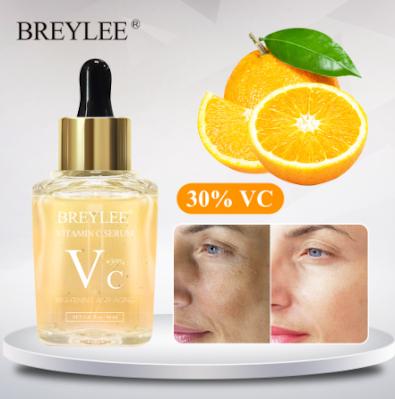 BREYLEE Vitamin C Serum Whitening Dark Spots Repair Moisturizing Anti Aging Essence