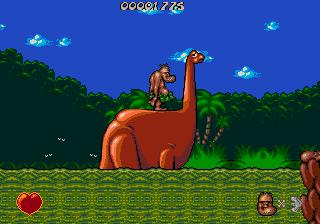 Chuck Rock online grátis para Mega Drive