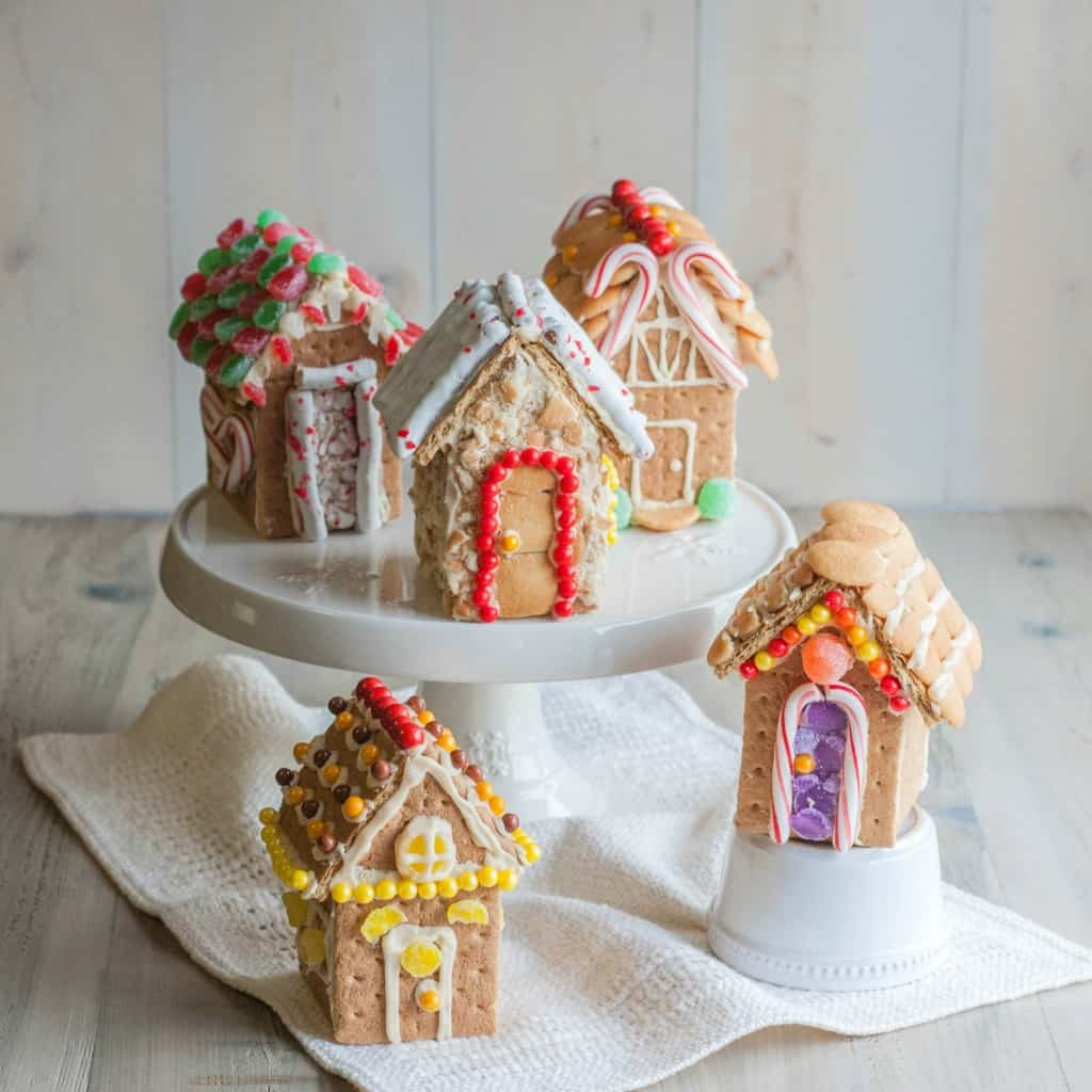 DIY Graham Cracker Gingerbread houses