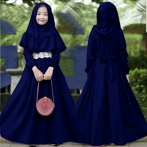 Baju Anak Perempuan Remaja Muslimah Terkini