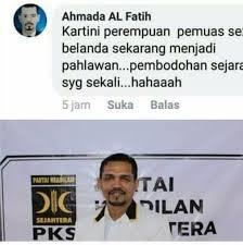 Akun Penghina RA Kartini yang Comot Foto Kader PKS Akan Dilaporkan Polisi