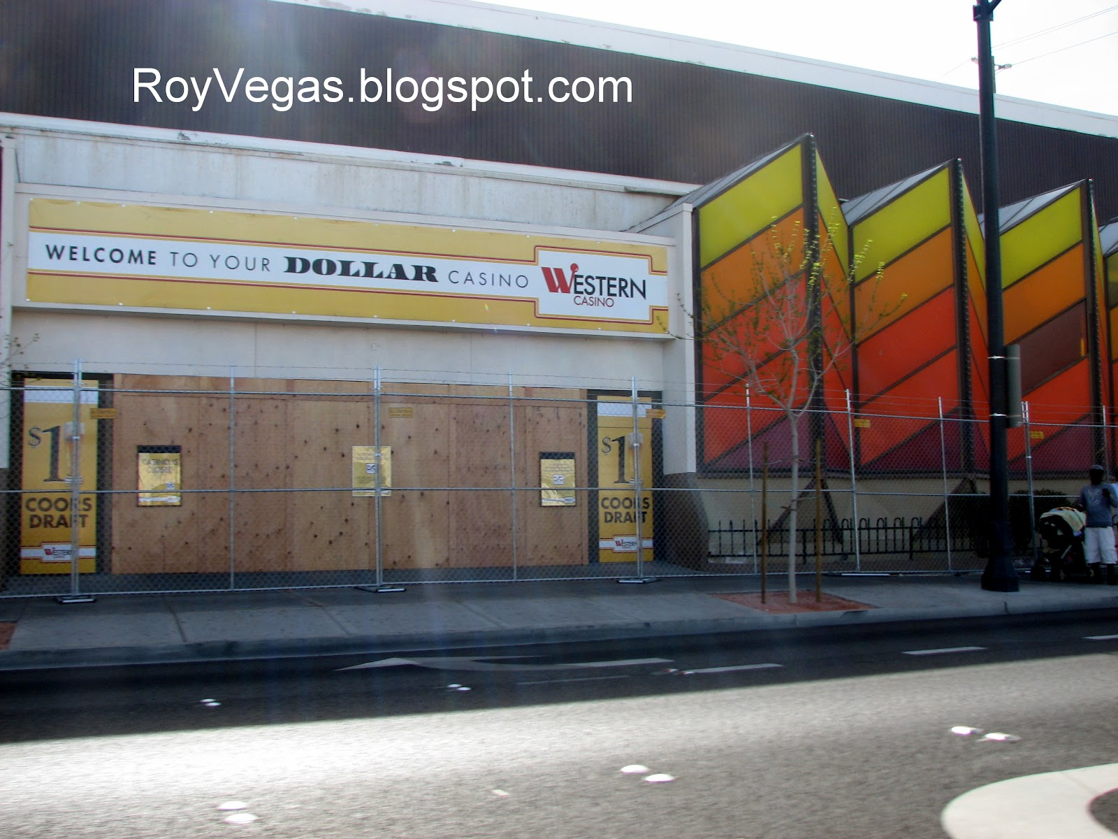 Las Vegas Photos Of The Closed Western Hotel And