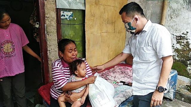 Kelaparan Saat Corona, Keluarga Miskin 2 Hari Cuma Minum Air