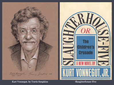Kurt Vonnegut. Slaughterhouse-Five. Kurt Vonnegut Museum & Library. by Travis Simpkins