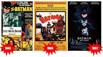 Películas de Superhéroes: El siglo XX