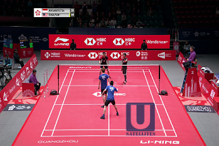 HSBC BWF World Tour Finals Guangzhou Eutelsat 7A/7B Biss Key 11 December 2019