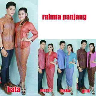 Baju Setelan Blouse Batik Sarimbit Couple Trend Masa Kini