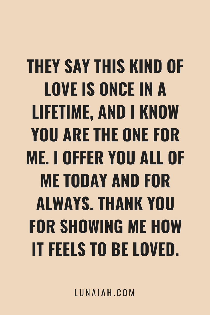 Best Ever ce In A Lifetime Kind Love Quotes good quotes