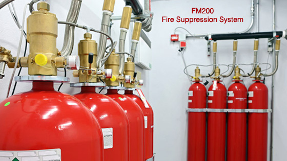 FM200 Alat Pemadam Api Fire Suppression System Ruang Server Komputer