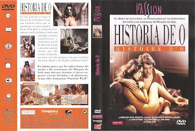 Carátula dvd: Historia de O - 1975 - Cine erótico