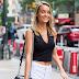Melissa Cuc vai as audições para o Victoria's Secret Fashion Show 2017, em Midtown, em Nova York - 17/08/2017