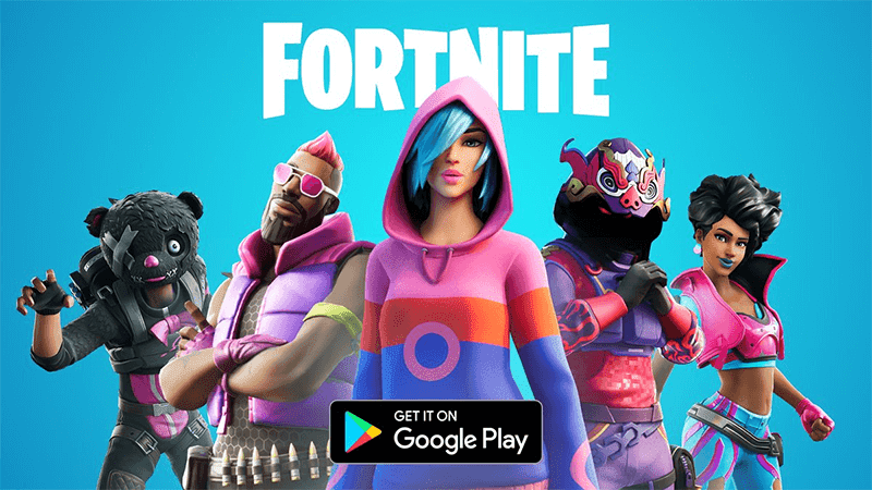 Fortnite now available for download at the Google Play Store